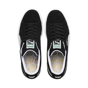 Thumbnail 6 of Suede Classic+ Sneaker, black-white, medium