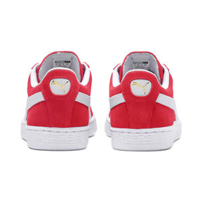 Thumbnail 3 of Suede Classic+ Men's Trainers, team regal red-white, medium