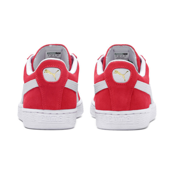 Suede Classic+ Men's Trainers, team regal red-white, large