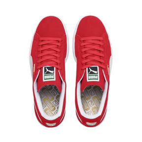 Thumbnail 6 of Suede Classic+ Men's Trainers, team regal red-white, medium