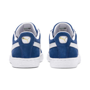 Thumbnail 3 of Suede Classic+ Men's Trainers, olympian blue-white, medium