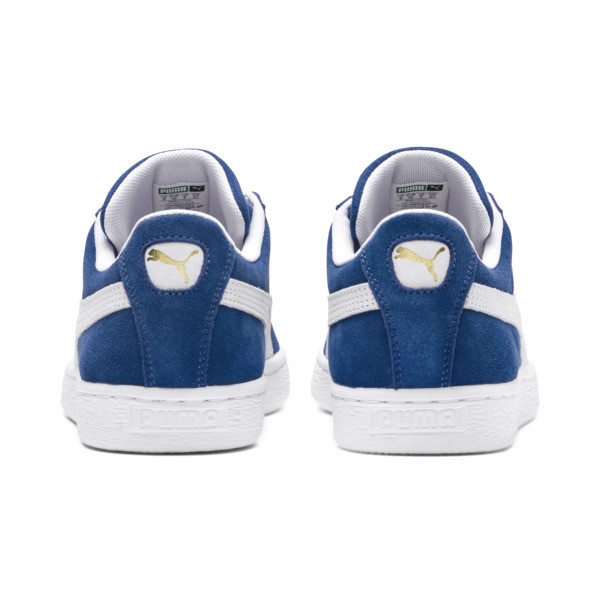 Suede Classic+ Sneakers, olympian blue-white, large