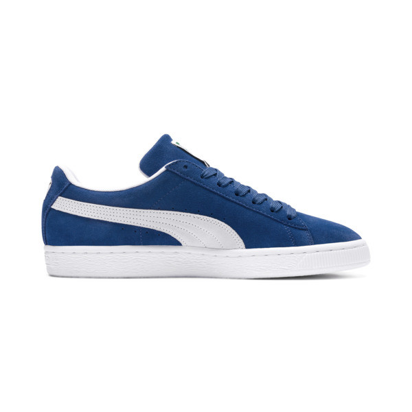 Suede Classic+ Men's Trainers, olympian blue-white, large