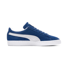 Thumbnail 5 of Suede Classic+ Sneakers, olympian blue-white, medium