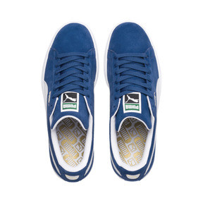 Thumbnail 6 of Suede Classic+ Men's Trainers, olympian blue-white, medium