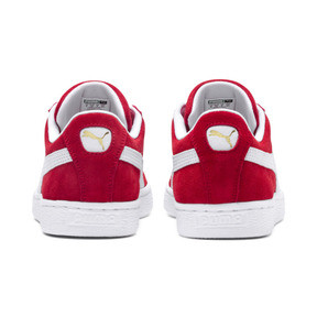Thumbnail 3 of Suede Classic+ Sneaker, high risk red-white, medium
