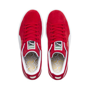 Thumbnail 6 of Suede Classic+ Sneaker, high risk red-white, medium