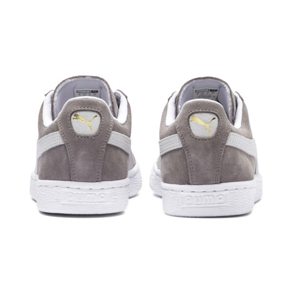 Suede Classic+ Sneakers, steeple gray-white, large
