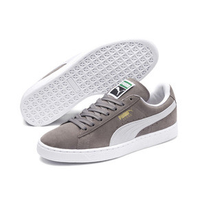 Thumbnail 2 of Suede Classic+ Men's Trainers, steeple gray-white, medium