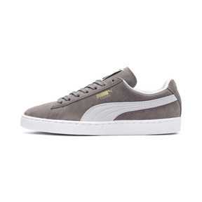 Thumbnail 1 of Suede Classic+ Men's Trainers, steeple gray-white, medium