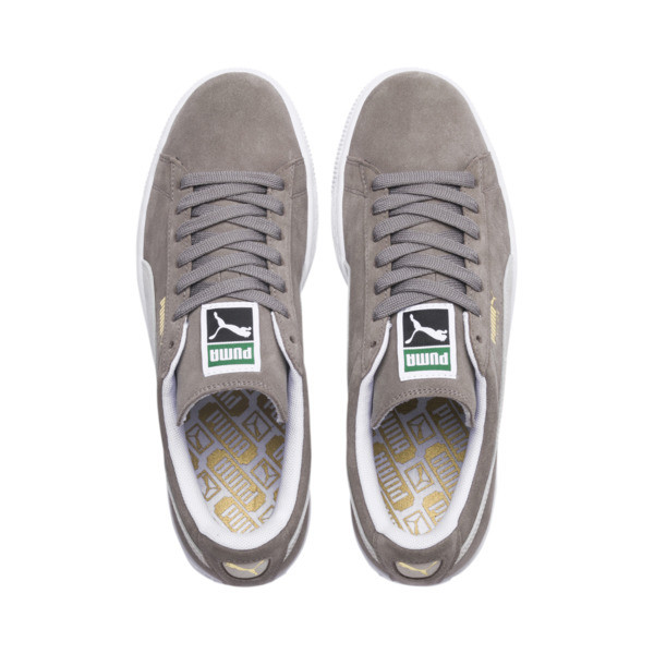 Suede Classic+ Men's Trainers, steeple gray-white, large