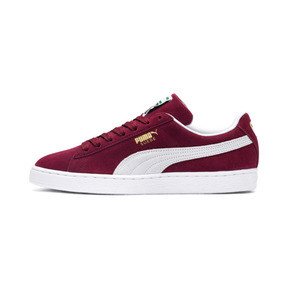 Thumbnail 1 of Suede Classic+ Sneakers, cabernet-white, medium