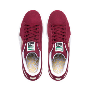 Thumbnail 6 of Suede Classic+ Sneakers, cabernet-white, medium