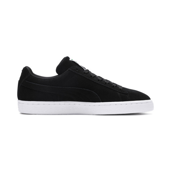 Suede Classic+ Men's Trainers, black-team gold-white, large