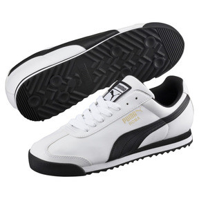Thumbnail 2 of Roma Basic Sneaker, white-black, medium