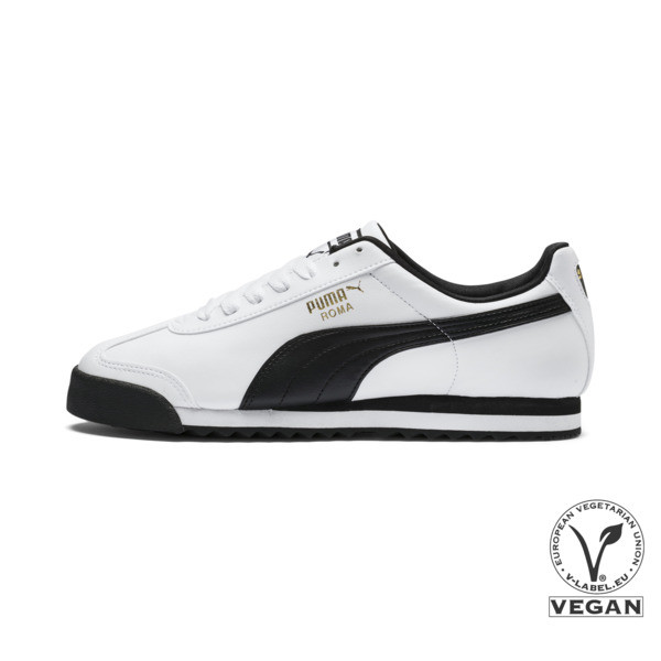 Roma Basic Sneaker, white-black, large