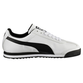 Thumbnail 4 of Roma Basic Trainers, white-black, medium