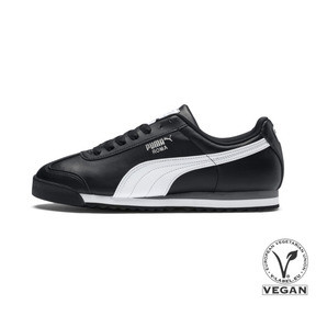 Thumbnail 1 of Roma Basic Trainers, black-white-puma silver, medium