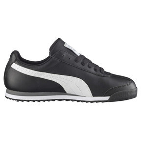 Thumbnail 4 of Roma Basic Trainers, black-white-puma silver, medium