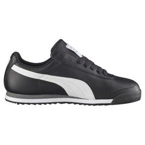 Thumbnail 4 of Roma Basic Sneaker, black-white-puma silver, medium