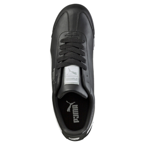 Zapatillas Roma Basic, black-white-puma silver, grande