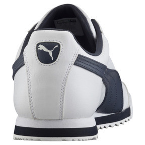 Thumbnail 4 of Roma Basic Trainers, white-new navy, medium