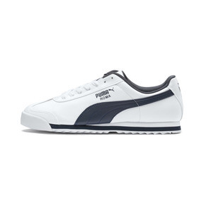 Thumbnail 1 of Roma Basic Trainers, white-new navy, medium