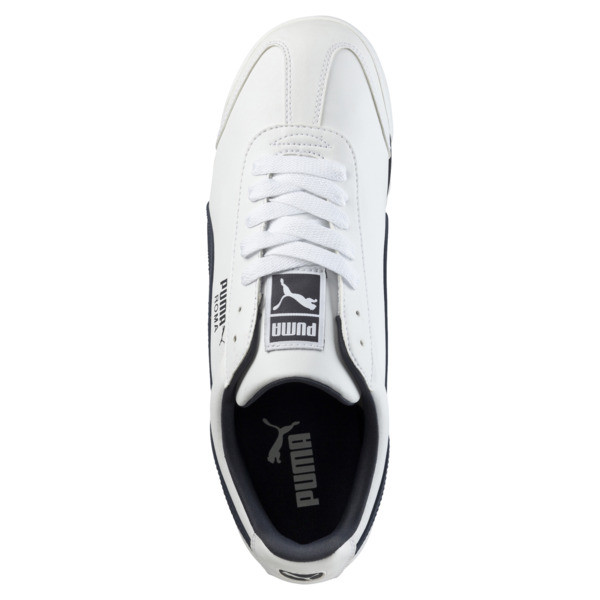 Roma Basic Trainers, white-new navy, large