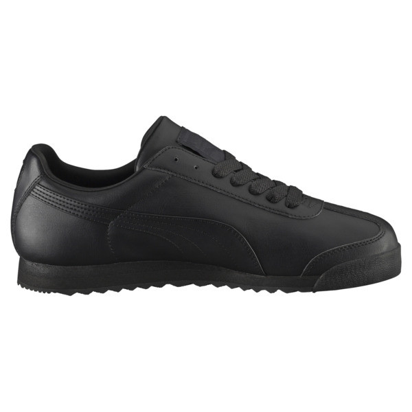 Roma Basic Trainers, black-black, large