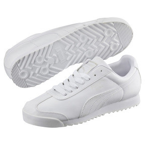 Thumbnail 2 of Roma Basic Trainers, white-light gray, medium