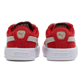 Thumbnail 4 of Puma Suede Toddler Shoes, high risk red-white, medium