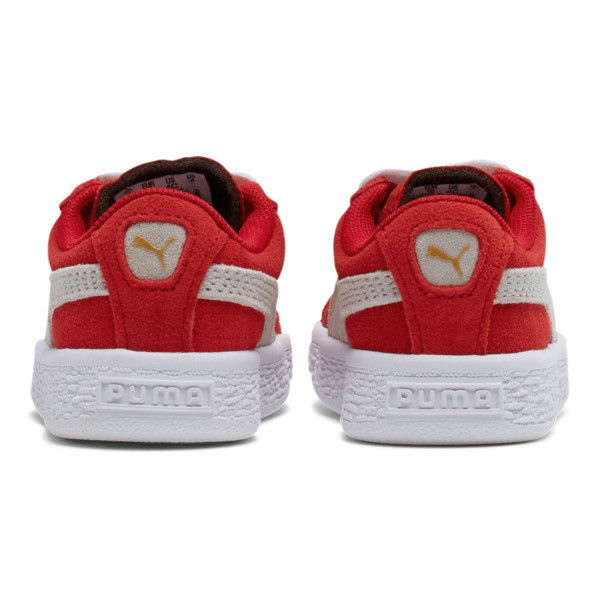 PUMA Suede Sneakers INF, high risk red-white, large