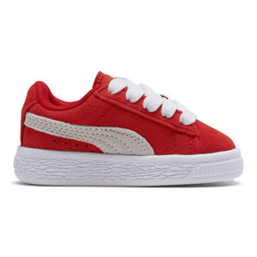 Thumbnail 5 of Puma Suede Toddler Shoes, high risk red-white, medium