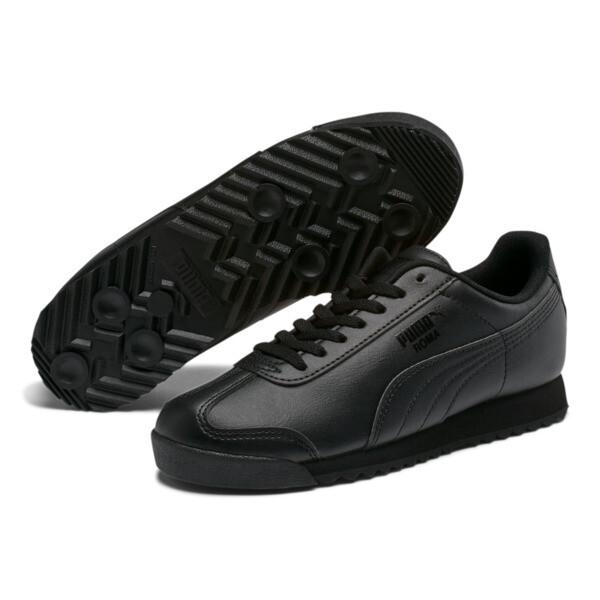 Roma Basic Sneakers JR, black-black, large
