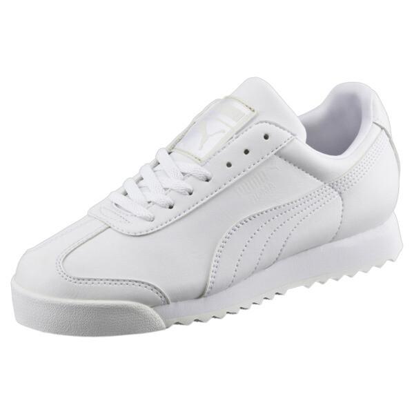 Roma Basic Youth Trainers, white-light gray, large