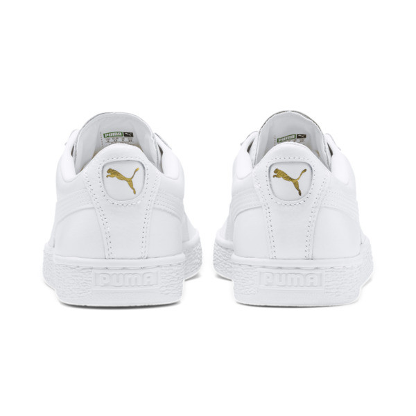 Heritage Basket Classic Sneakers, white-white, large