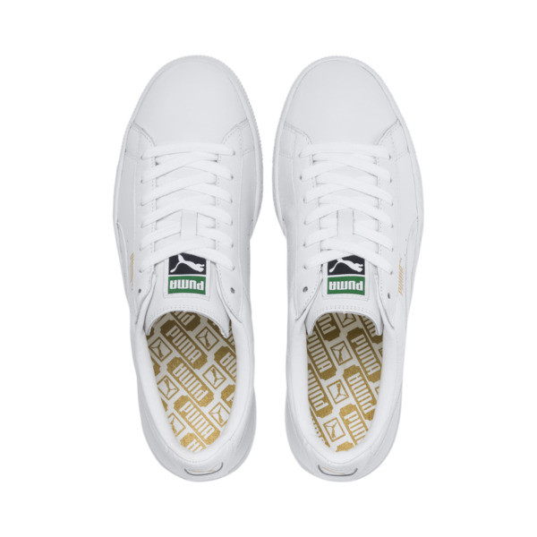 Basket Classic LFS Men's Shoes, white-white, large