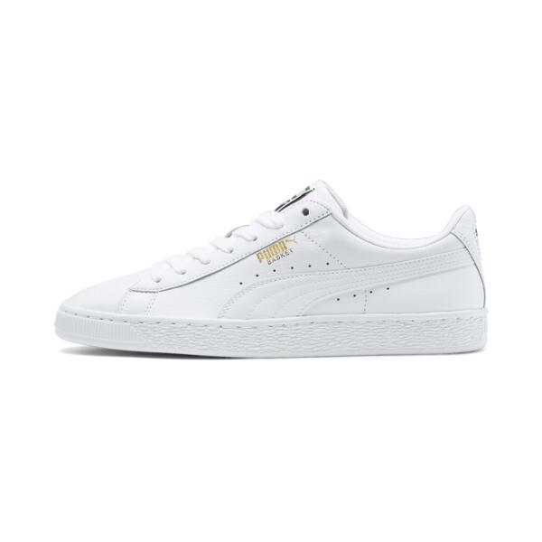 Sneaker Heritage Basket Classic, white-white, large