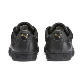 Thumbnail 3 of Sneaker Heritage Basket Classic, black-team gold, medium