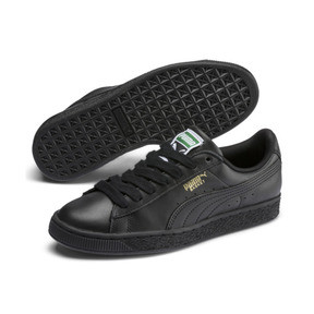Thumbnail 2 of Basket Classic LFS Men's Shoes, black-team gold, medium
