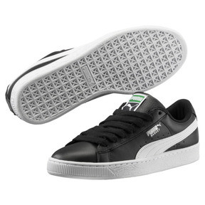 Thumbnail 2 of Heritage Basket Classic Sneaker, black-white, medium