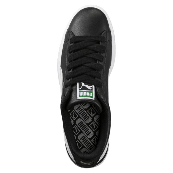 Basket Classic LFS Men's Shoes, black-white, large