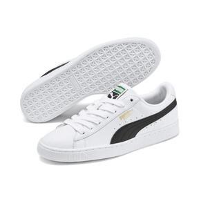 Thumbnail 2 of Heritage Basket Classic Sneakers, white-black, medium