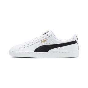 Thumbnail 1 of Heritage Basket Classic Sneakers, white-black, medium