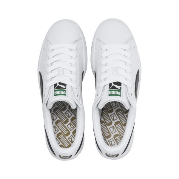 Zapatillas de hombre Basket Classic LFS, blanco-negro, grande