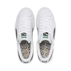 Thumbnail 6 of Heritage Basket Classic Sneakers, white-black, medium