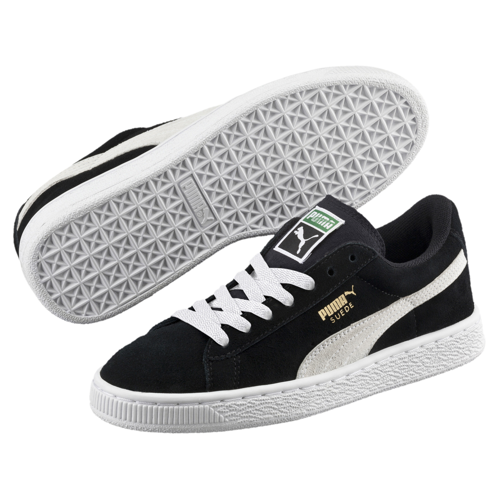 Image Puma Suede Youth Trainers #2