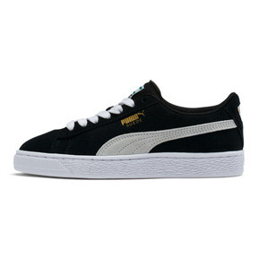 Thumbnail 1 of Suede Sneakers JR, negro-blanco, mediano
