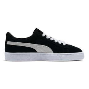 Thumbnail 5 of Suede Sneakers JR, negro-blanco, mediano