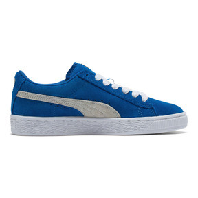 Thumbnail 5 of Suede Sneakers JR, snorkel blue-white, medium